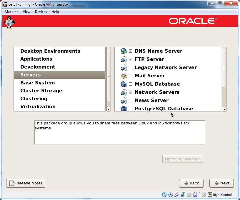 Install Oracle Linux 5 (OEL5) | DBAORA