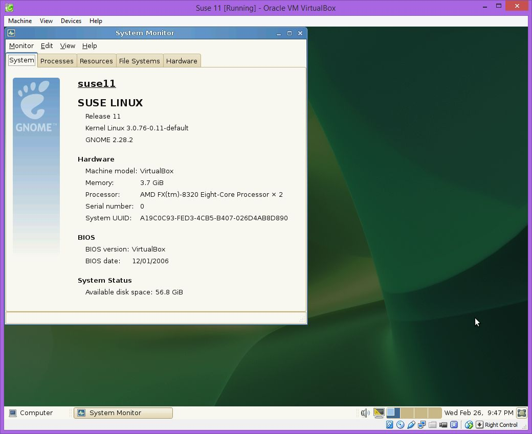 Install Suse Linux Enterprise Server 11 SP3 | DBAORA