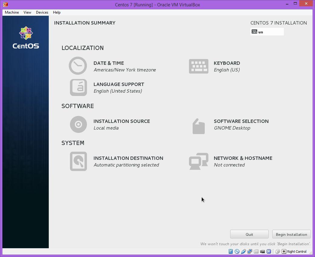 Install Centos Linux 7 | DBAORA
