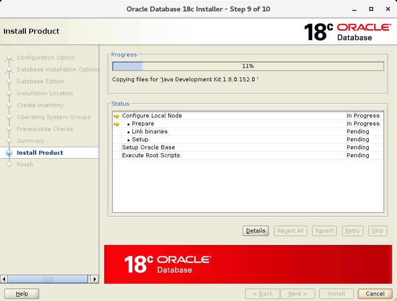 Install Oracle 18C on Oracle Linux 7 (OEL7) | DBAORA